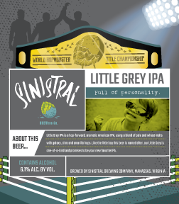 LITTLE GREY IPA 6.1% ABV